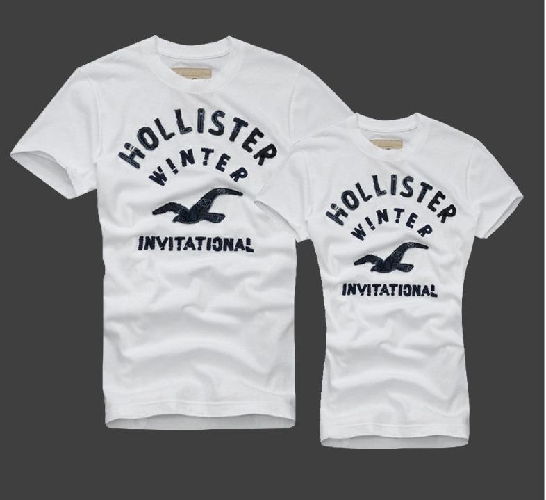 Hollister Мужские и Женские футболки 100% хлопок