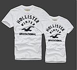 Hollister Женские и Мужские футболки 100% хлопок, фото 9