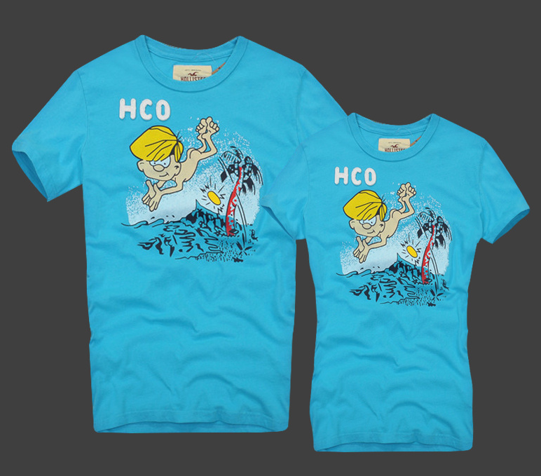 Hollister original Женские и Мужские футболки 100% хлопок