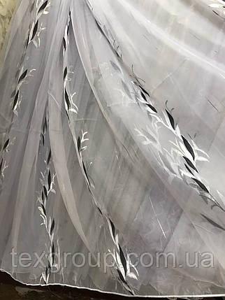 Тюль опт рисунок бамбук разные рисунки JH-88, фото 2