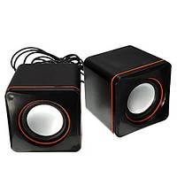 Мультимедийная акустика  2.0 Speaker  E-02A
