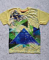 Детская футболка для мальчиков 110-116-122-128 роста