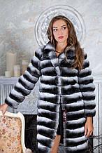 "Шуба з шиншили ""Аліса"" Natural chinchilla fur coats jackets"