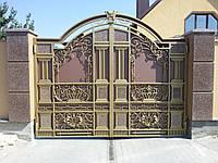 Кованые ворота(Андрей)