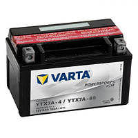 YTX7A-BS VARTA FUN Мото аккумулятор 6 А/ч, 105 А, (+/-), 151х88х94 мм