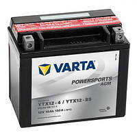 YTX12-BS VARTA FUN Мото аккумулятор 10 А/ч, 150 А, (+/-), 152х88х131 мм