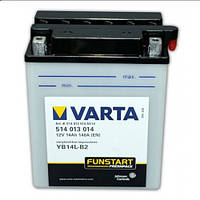 VARTA 514013014A514 Мото аккумулятор 14 А/ч, 190 А, (-/+), 136x91x168 мм