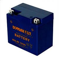 DYNAVOLT MG5L-BS Мото аккумулятор 4 А/ч, 55 А, 114х69х109 мм