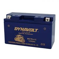 DYNAVOLT MG7B-4 Мото аккумулятор 6 А/ч, 60 А, 150х65х92 мм