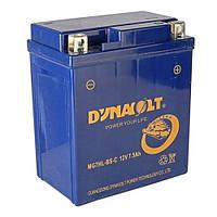 DYNAVOLT MG7L-BS Мото аккумулятор 7 А/ч, 70 А, (-/+),  114х69х134 мм
