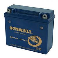 DYNAVOLT MG7A-3А Мото аккумулятор 7 А/ч, 60 А, 149х60х130 мм