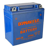 DYNAVOLT MG9-3B Мото аккумулятор 9 А/ч, 110 А, 136х76х139 мм