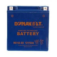 DYNAVOLT MG16A-BS Мото аккумулятор 18 А/ч, 220 А, 150х87х161 мм