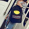 Городской рюкзак с рисунком смайла, фото 2