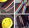 Городской рюкзак с рисунком смайла, фото 4