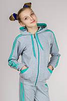 Детский спортивный костюм для девочки с лампасами (размеры 38-40)