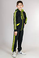 Детский спортивный костюм для мальчика и девочки с лампасами (размеры 38-40)