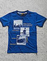 Модная футболка для мальчиков 110,116 роста Рэпер
