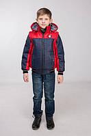 Детская разборная демисезонная  куртка на мальчика р-32-44