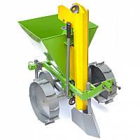Картофелесажалка  для мотоблока КСМ-2 (с транспортировочными колесами)