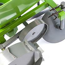 Картофелесажалка для мотоблока с транспортными колесами КСМ-2, фото 2