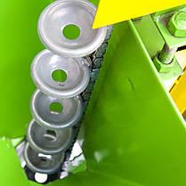 Картофелесажалка для мотоблока с транспортными колесами КСМ-2, фото 3