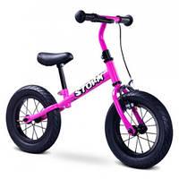 """Беговел дитячий Caretero Storm (purple), 12"""" надувні колеса, сталева рама, фото 1"""