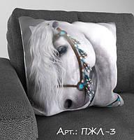 Подарочная подушка с 3-д рисунком. Подарок на праздник