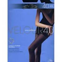 Женские матовые велюровые колготки omca  velour 40