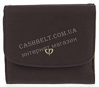 Компактный интересный оригинальный удобный женский кошелек высокого качества SACRED art. J-6188-B коричневый, фото 1