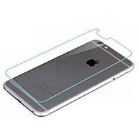Заднее защитное закаленное стекло для iPhone 6 Plus, 6s Plus (бронестекло айфон)