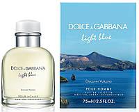 Dolce & Gabbana Light Blue Discover Volcano Men EDT 75 ml  туалетная вода мужская (оригинал подлинник  Великобритания)
