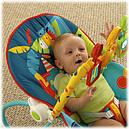 Детское кресло качалка шезлонг Сафари Fisher Price Dark Safari, фото 6