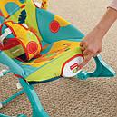 Детское кресло качалка шезлонг Сафари Fisher Price Dark Safari, фото 8