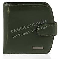 Компактный интересный оригинальный удобный женский кошелек высокого качества FUERDANNI art. 4499 зеленый