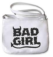 "СУМОЧКА ""МINI"" - №97 ""Bad Girl""  - белая"