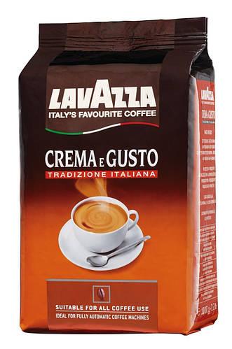 Кофе в зернах Lavazza Crema e Gusto 1 кг кофе зерновой