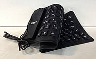 Клавиатура водонепроницаемая KEYBOARD X3 силиконовая, USB