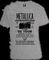 Футболка Metallica 92 Tour