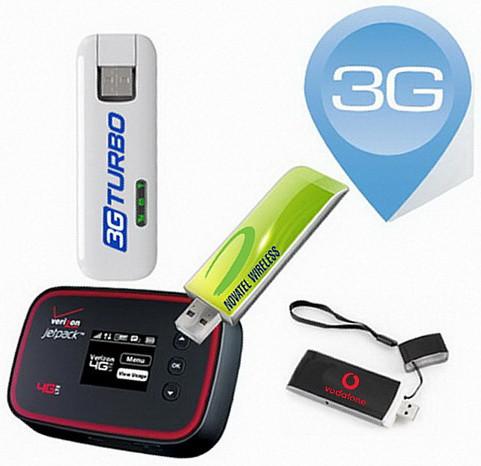 3G модемы, Wi-Fi роутеры