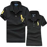 В стиле Ральф поло 100% хлопок женская мужская футболка поло оригинал, фото 2