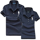 В стиле Ральф поло 100% хлопок женская мужская футболка поло оригинал, фото 3