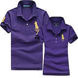 В стиле Ральф поло 100% хлопок женская мужская футболка поло оригинал, фото 4