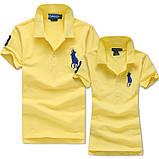 В стиле Ральф поло 100% хлопок женская мужская футболка поло оригинал, фото 5