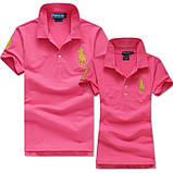 В стиле Ральф поло 100% хлопок женская мужская футболка поло оригинал, фото 6