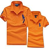 В стиле Ральф поло 100% хлопок женская мужская футболка поло оригинал, фото 7