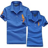 В стиле Ральф поло Мужские и Женские футболки 100% хлопок ралф, фото 1