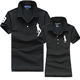 У стилі Ральф поло 100% бавовна жіноча чоловіча футболка поло оригінал, фото 7