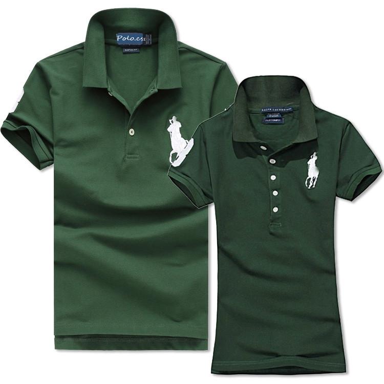 Ralph Lauren Polo original Женские и Мужские футболки 100% хлопок