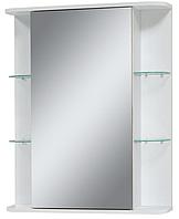 Зеркало в ванную комнату Panorama с полочками
